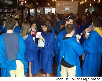 Snuggie Pub Crawl NYC