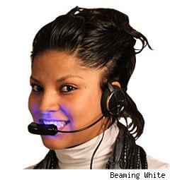 Beaming White Forever White Teeth Whitening Headset and Kit