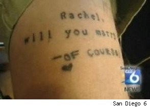 Will You Marry Me Tattoo