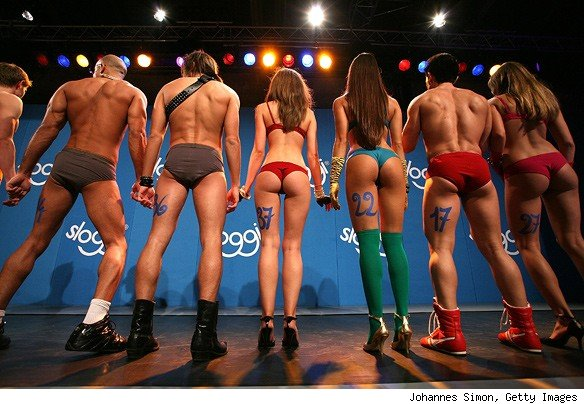 best butt competition