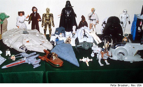 star wars toy collection