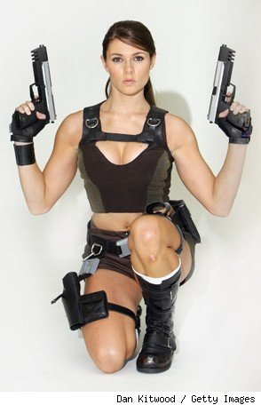 Tomb Raider Lara Croft Alison Carroll