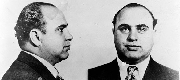 Al Capone mugshot