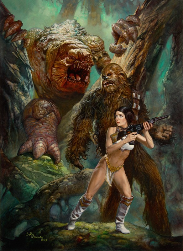 Forest Rancor Julie Bell Boris Vallejo