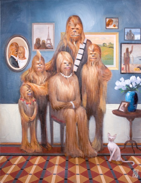 Wookie Family Portrait Maya GoHill