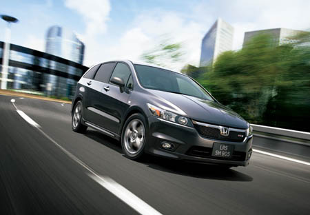 The new Honda Stream