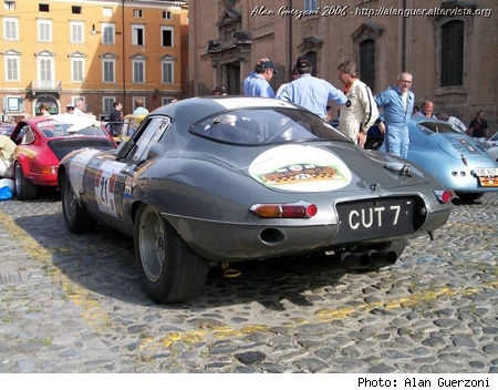 1961 Jaguar E-Type Low Drag