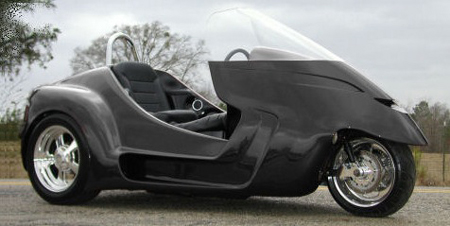 The Stallion Trike By Thoroughbred Motorsports Autoblog