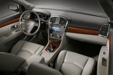 Caddy Draws On History For Richer Interior In The 2007 Srx