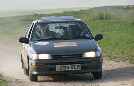 1990 Daihatsu Charade in Mongol Rally