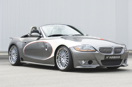Hamann Plays Dress Up A New Front Skirt For The Bmw Z4