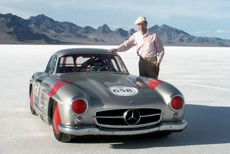 John Fitch at Bonneville, 2005