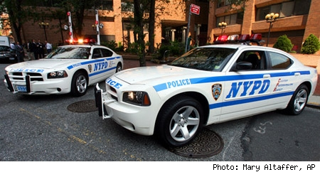 Dodge Cherger NYPD cruisers