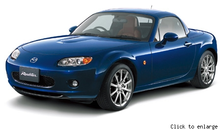 Mazda Roadster Power Retractable hard Top