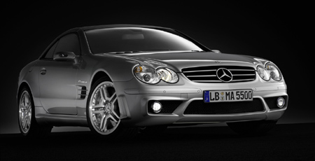 Mercedes-Benz SL 55 AMG w/ performance package
