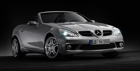 Mercedes-Benz SLK 55 AMG w/ performance package