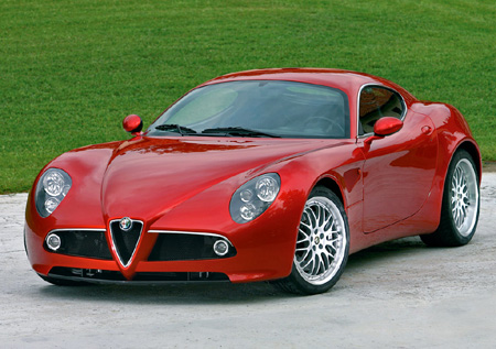 Paris Preview: Alfa Romeo 8C Competizione hits the web