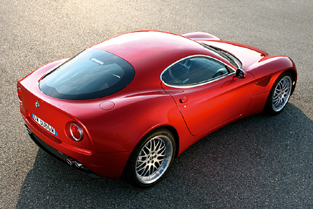 Alfa Romeo 8C Competizione - Production Version