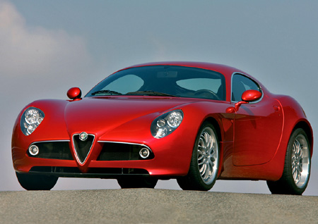 Alfa Romeo 8C Competitzione - Production Version