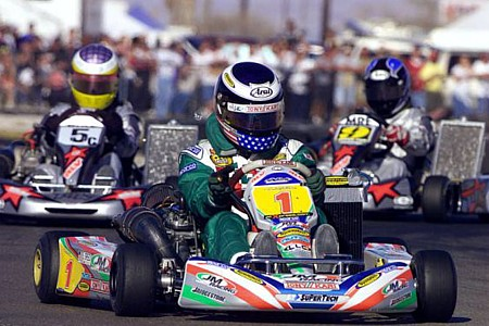 Auto Racing Cart on Return To His Racing Roots In November  Sliding Into A Shifter Kart