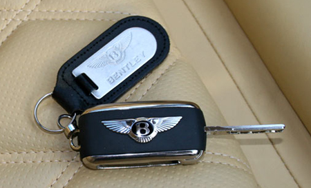 Bentley Continental GT/Flying Spur/GTC key fob