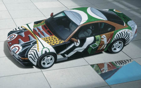 David Hockney Art Car