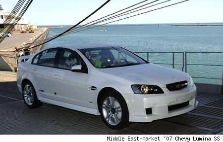 2007 Chevrolet Lumina SS - Middle East Market