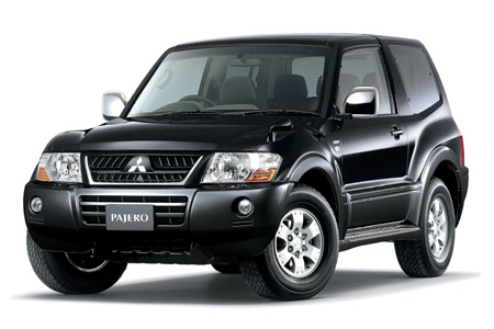 Previous-gen Mitsubishi Pajero