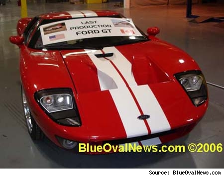The last Ford GT
