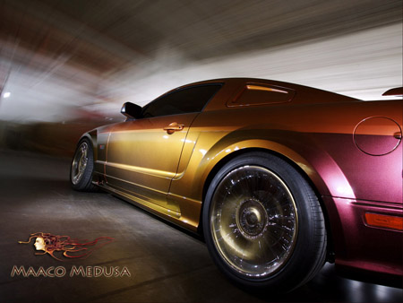 Stare At Your Own Risk Maaco S Medusa Mustang Autoblog