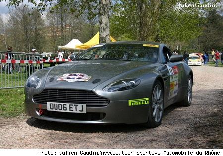 Aston Martin Rally GT at the Lyon-Charbonnieres Rally 2006