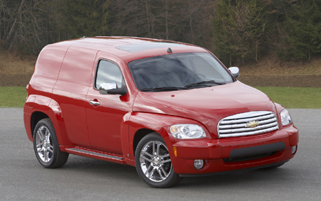Chevy Hhr Panel Delivers Style Function And Fun In A New Segment Exclusive Configuration