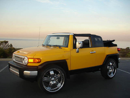 What Blindspot Toyota Fj Cruiser Convertible Autoblog