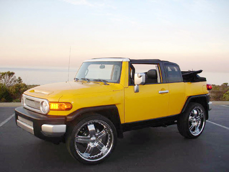 Convertible Auto Racing on What Blindspot  Toyota Fj Cruiser Convertible