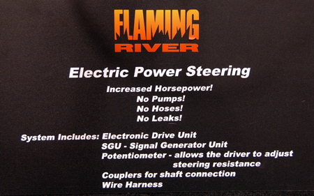 Sema Flaming River Electric Power Steering Autoblog