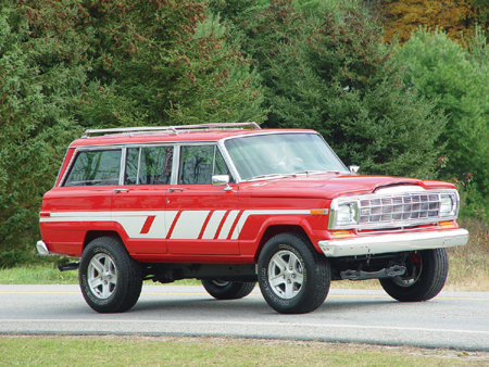 1978 Jeep Wagoneer Limited. a 1988 Jeep Grand Wagoneer