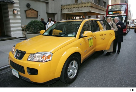 Saturn Vue Green Line Taxi