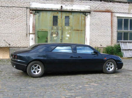Vervolf The Mysterious Russian Limo Autoblog