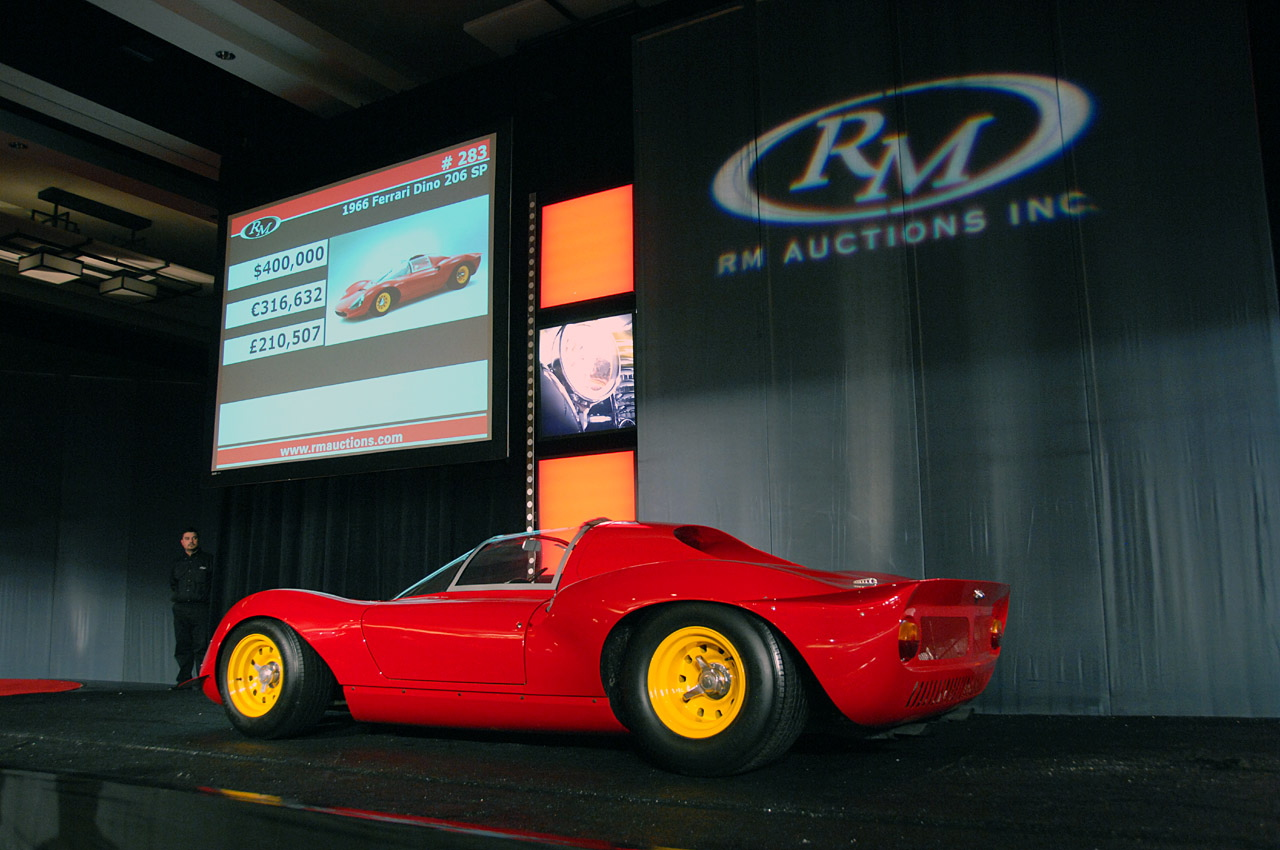2007 Rm Auction Scottsdale 1966 Ferrari Dino 206 Sp