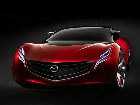 Mazda on For Gracious Flow Is Mazda S Second Concept In A Series Of Three