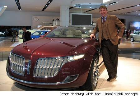 Peter Horbury with the Lincoln MKR