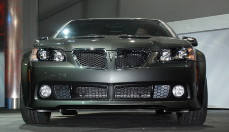 Pontiac G8 may be built in the U.S.