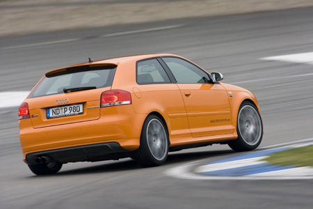 But since competition is fierce from both the Audi's stable mates (GTI,