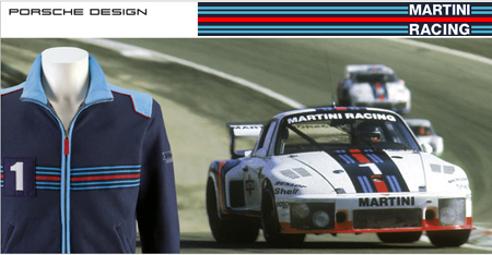 Auto Racing Sponsership on Porsche S Martini Racing Collection Leaves Us Stirred  Not Shaken
