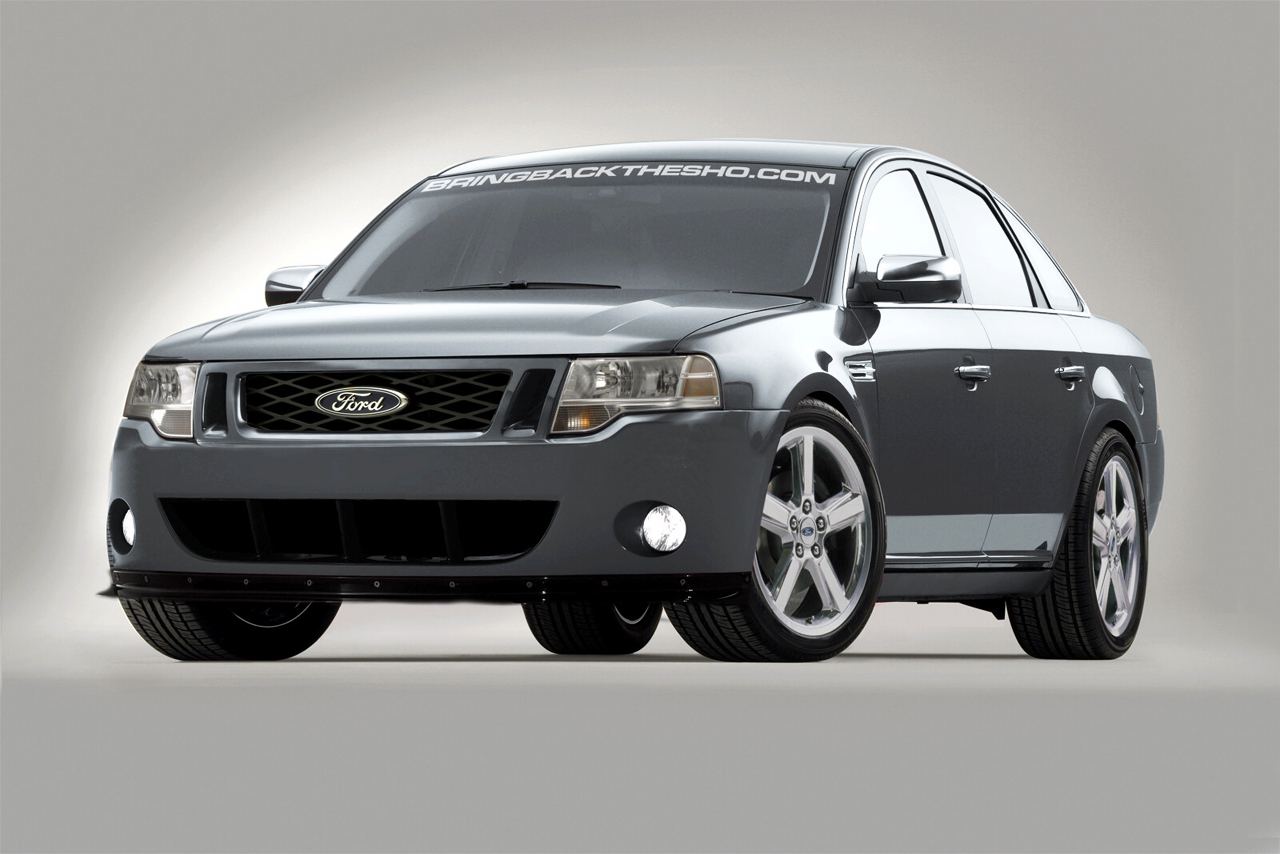 2009 ford taurus sho concept photo gallery autoblog. Black Bedroom Furniture Sets. Home Design Ideas