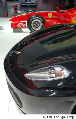 Ferrari At Geneva 2007