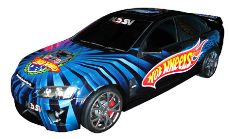 Hot Wheels' HSV display car