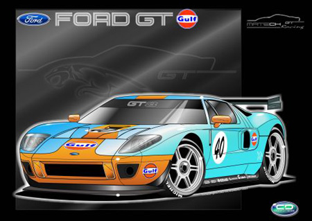 Will See A Familiar Face In The Gt Class When It Does Finally Touch Down In Europe Matech Racing Has Just Announced That It Will Enter Three Ford Gt