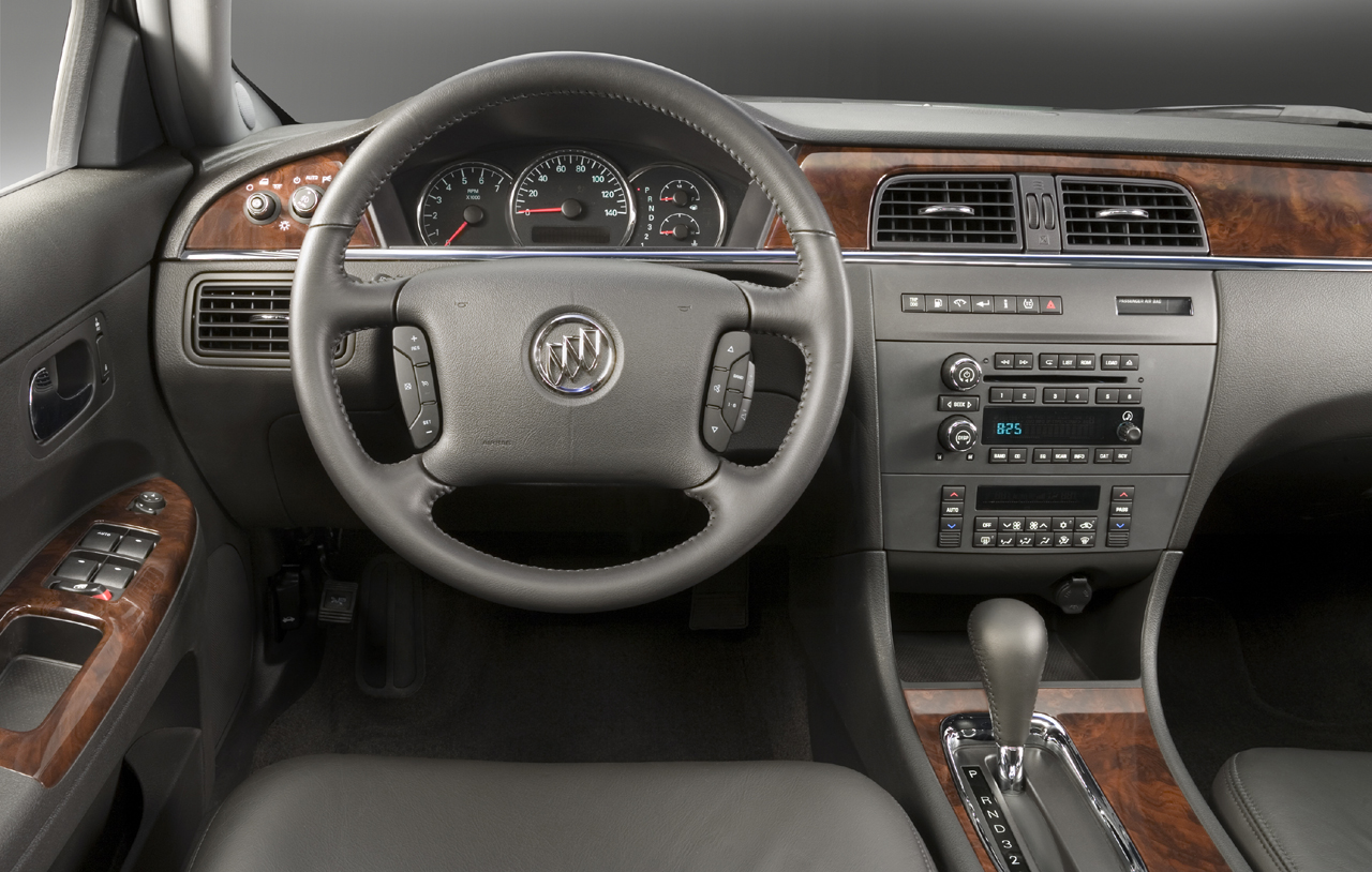 X Bu Lc on 2007 Buick Lucerne Interior