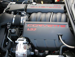 2008 chevy corvette revealed new 6 2l ls3 v8 and up to 436 hp everything inside and out has been breathed on but the headlining story is the ls3 engine the combination of corvette more displacement and more